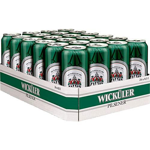 Wicküler Pilsener, 24er Pack, 24 x 0,5 l Dose EINWEG