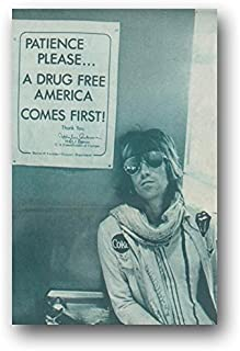 Rolling Stones Poster - Keith Richards Drugs - 11 x 17 inches