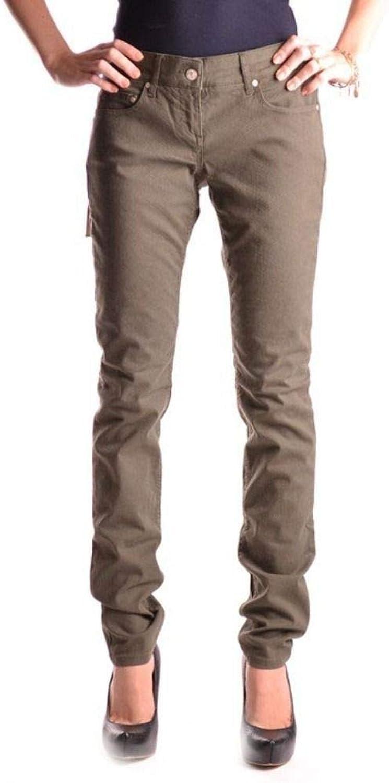 Daniele Alessandrini Women's MCBI9909 Green Cotton Jeans
