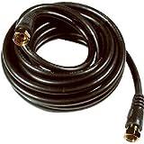 Audiovox VH612 - Cable coaxial (3,66 m, F, RG-6/U, Negro)...