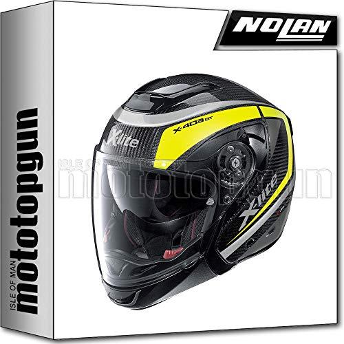 MOTOTOPGUN X-LITE BY NOLAN CROSSOVER-SYSTEMHELM X-403 GT ULTRA CARBON MERIDIA 009 SZ. XXL
