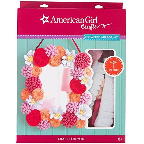 American Girl Crafts DIY Mirror Kit Doll Crafts, 8.5'' x 11.2''