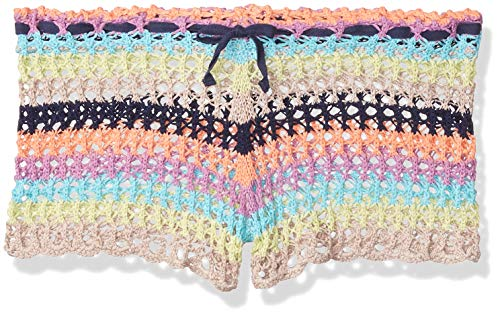 Sperry Top-Sider Damen Poolside Multi Striped Häkelshorts Cover Up - Mehrfarbig - Small