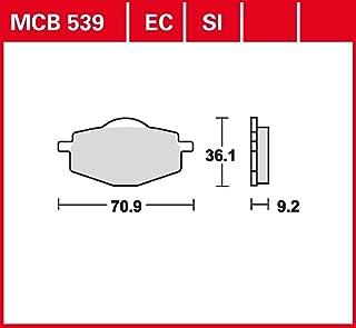 Bremsbelag TRW organischer Allround Bremsbelag DT 125 R 4BL 91 98 vorne