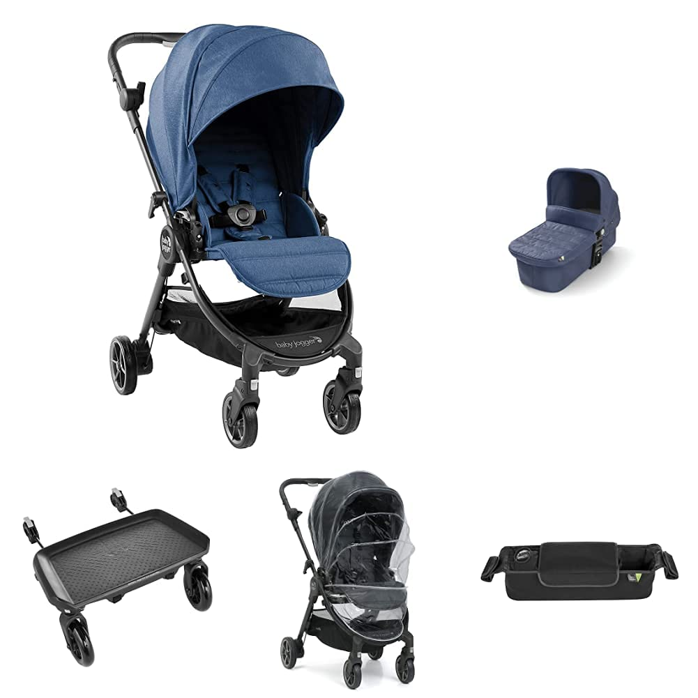 Baby Jogger Choice City Select LUX Tour Complete Free Shipping Foldable with Stroller