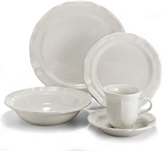 Mikasa 5223387 French Countryside 40-Piece Dinnerware Set, Service for 8
