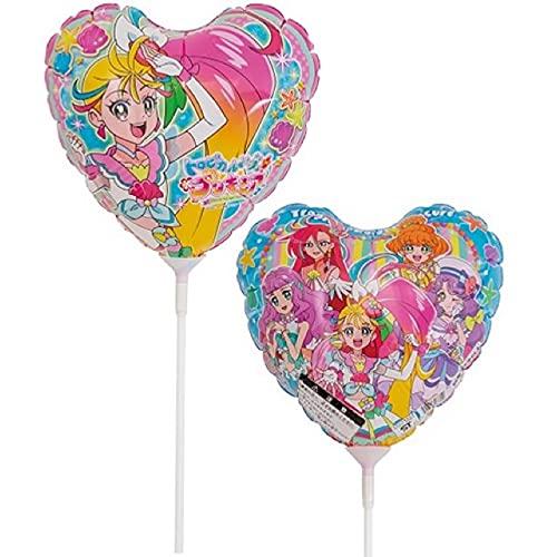 トロピカル?ジュプリキュア バルーン ギフト  女の子のお誕生日やお祝い、発表会に… (スティックバルーン)