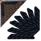 Pinzas para Alfombras, 32 Piezas Adhesivos Antideslizante para Alfombras, Adhesivo de Alfombra Lavable y Reutilizable Antideslizante para alfombras de Pisos de Madera