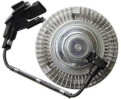 TOPAZ 3265 Engine Cooling Fan Clutch for 2008-2010 Ford F-250 F-350 Super Duty Powerstroke Diesel 6.4L V8
