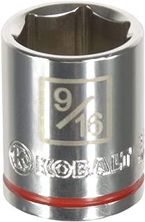 Kobalt 338127 1//4-Inch Drive x 14-mm Deep 6-Point Socket