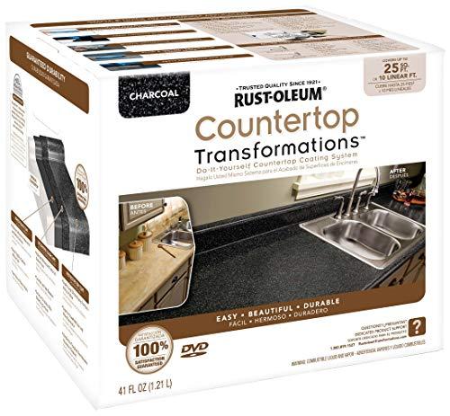 Rust-Oleum 258512 Countertop Transformations Kit, Small Kit, Charcoal