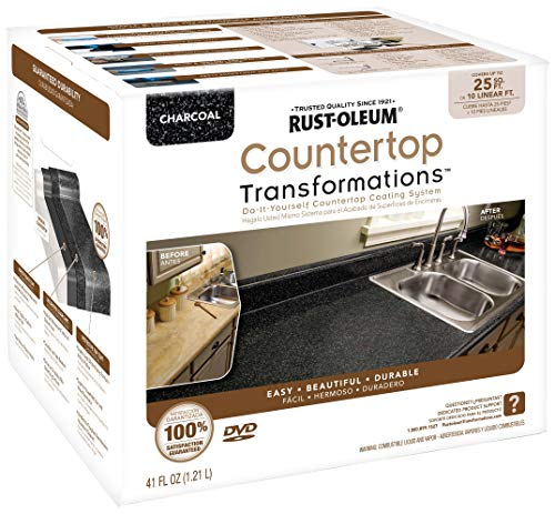 Rust-Oleum 258512 Countertop Transformations Kit, Small Kit, Charcoal
