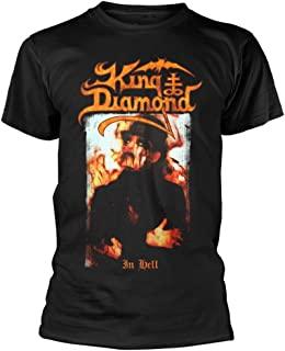 King Diamond 'in Hell' (Black) T-Shirt