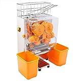 HODOY Spremuta Macchina Per il Succo D'arancia Juicer Spremiagrumi Commerciale Alimentazione Automatica/Acciaio Inossidabile (2000E)