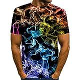 SSBZYES Camisetas para Hombre Camisetas De Cuello Redondo para Hombre Camisetas De Gran Tamaño para Hombre Camisetas Estampadas Pintadas para Hombre Camisetas Holgadas Y Cómodas De Verano En Azul