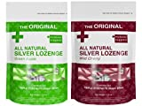 Silver Lozenges - Wild Cherry and Green Apple (2-Pack) The Perfect...