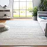 Safavieh Adirondack Collection ADR113T Modern Ombre Non-Shedding Stain Resistant Living Room Bedroom Area Rug, 8' x 10', Slate / Cream