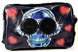 Evil Wear Laptop Taschen Schultasche DJ Bag mit Boxen Party Skull