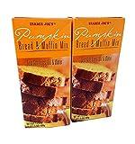 2 Pack Trader Joe's Pumpkin Bread & Muffin Mix 17.5 oz