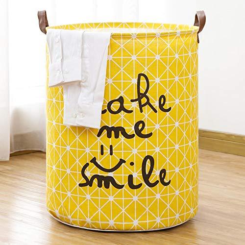 Nati Cesta de Tela Ropa, Impermeable Plegable. Cestos de lavandería para la Colada,Organizador Lavadero para Organizadoras Juguetes Ropa