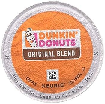 Dunkin  Donuts 0845 Original Blend Coffee K-Cup Pods Medium Roast 96/CT