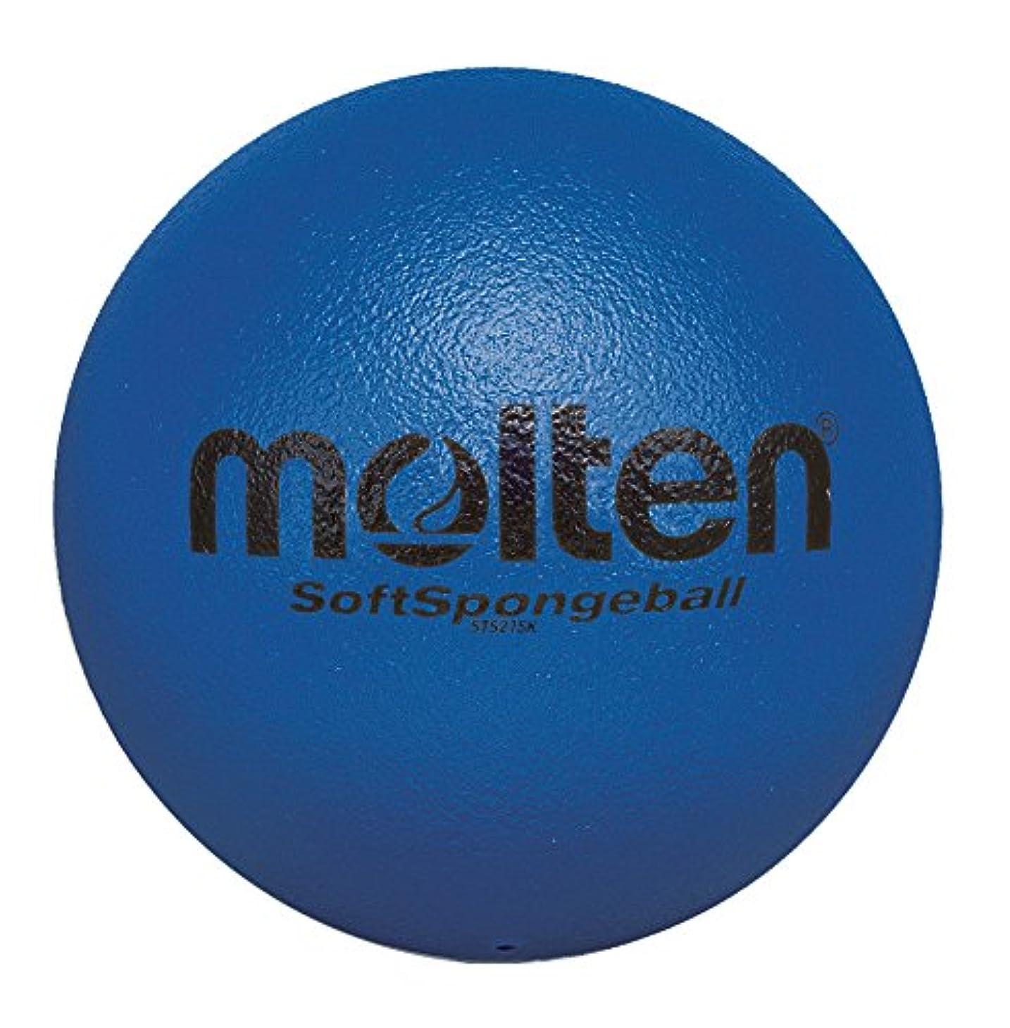 簿記係レポートを書く空いているmolten(モルテン) ソフトスポンジボール21cm SK青 STS21SK