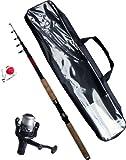 Angelset Einsteiger Komplett Set - Zum angeln von richtig dicken Karpfen ü5ü 500