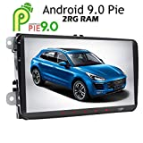 Android9.0 Pie 2GB RAM Autoradio pour VW Golf Skoda Passat Jetta Polo Assise 9 inch 1024 x 600 Head Unit support GPS SAT...