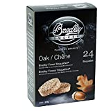 Bradley Smoker BTOK24 Smoker Chips, Oak