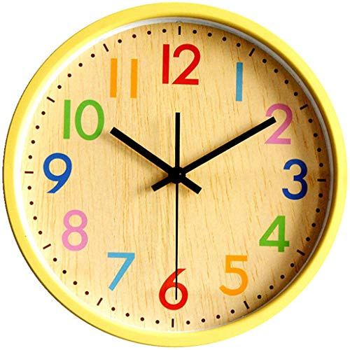 Everyday home 12 pouces moderne style horloge murale bon pour la maison cuisine salon chambre bureau horloge scolaire facile à lire à piles avec le cadran en verre