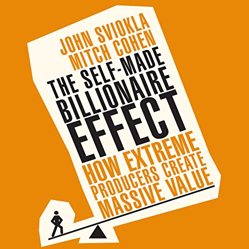 The Self-Made Billionaire Effect audiobook cover art