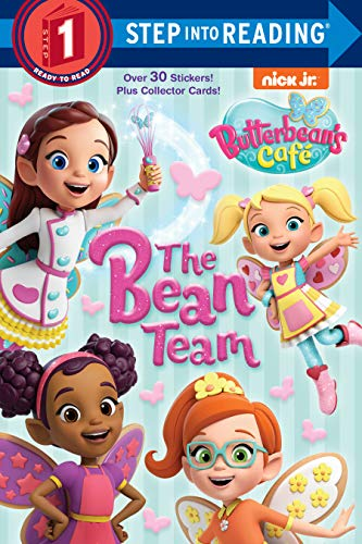 The Bean Team (Butterbean's Cafe) (Step into Reading)