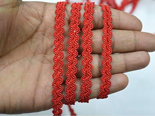 Adornos de 1 cm de cuerda trenzada étnica gitana de estilo gitano, para decoración del hogar, accesorios de ropa, cinta decorada para manualidades de 9 yardas para confección de vestidos de di
