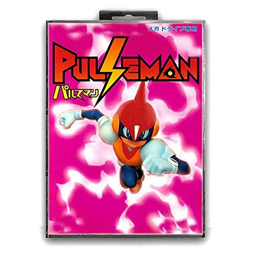 Jhana Pulse Man - Tarjeta de juego Sega de 16 bits, MD...