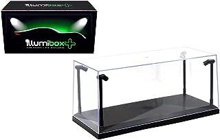 small lighted display box