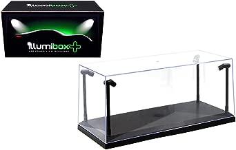 Illumibox MJ14001 Showcase 1: 18 x+ USB Powered Led Black Base Display, Clear