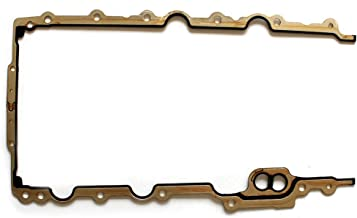 ECCPP Replacement for Engine Oil Pan Gasket for 1998-2010 Chrysler Concorde Charger Sebring Dodge Magnum 2.7L Cylinder Oil Pan Gaskets Kit