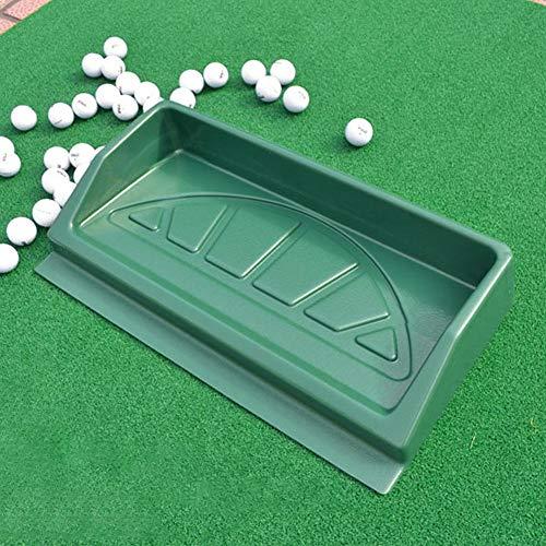 lahomie Golfballablage, ABS, große Golfbälle, 100 Golfbälle, Golfbälle, Driving Range 100 Bälle Tablett Golfer Zubehör