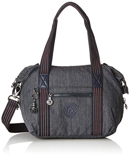 Kipling Damen Art Mini Henkeltasche Blau (Active Denim)