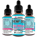 QUALITY YOU CAN TRUST - Hemp Oil drops for Pain Relief is formulated and manufactured with all natural ingredients. BENEFITS - Natural Pain Reliever, No Stress and Anxiety, Promotes Better Quality Sleep, Good for Heart and Brain Health, Can Improve I...