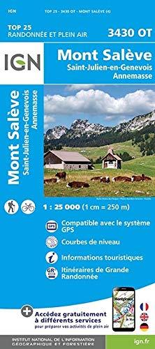 Mont Salève - Saint-Julien-en-Genevois - Annemasse 1 : 25 000