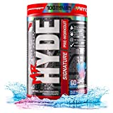 ProSupps® Mr. Hyde® Signature Pre-Workout Energy Drink – Intense Sustained Energy, Focus & Pumps with Beta Alanine, Creatine, Nitrosigine & TeaCrine (60 Servings, Blue Razz Popsicle)