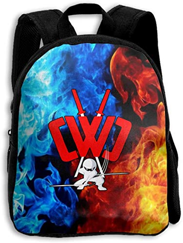 sdfasdfafd CWC Chad Wild Clay Backpack Novelty 3D Print Kids School Bag Adjustable Travel Laptop Bags For Boys Girls