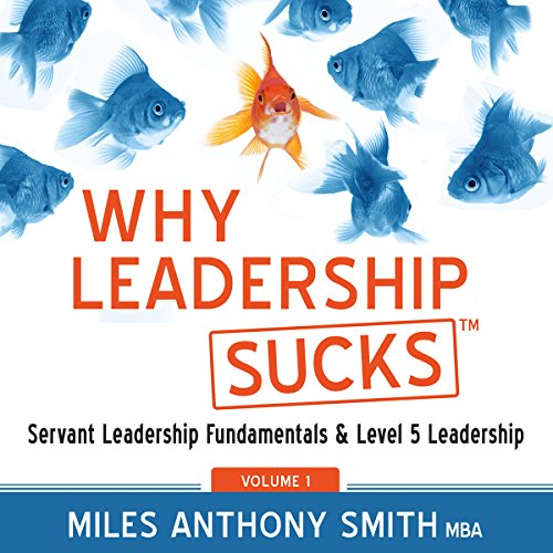 Why Leadership Sucks tm audiobook cover art