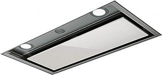 Elica BOX IN PLUX IXGL/A/60 625 m³/h Encastrada Acero inoxidable, Blanco - Campana (625 m³/h, Canalizado, 48 dB, 68 dB, Encastrada, Acero inoxidable, Blanco)