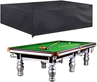 7/8/9ft Pool Snooker Billiard Table Cover Waterproof Polyester Dust Outdoor Cap