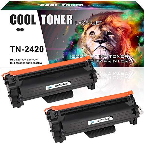 Cool Toner Compatibele Toner Cartridge voor TN2420 TN-2410 voor Brother MFC-L2710DW MFC-L2710DN HL-L2350DW HL-L2310D DCP-L2510D DCP-L2530DW HL-L2370DN MFC-L2730DW MFC-L2750DW HL-2357DW HL-L2375DW