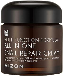 Snail Repair Cream 2.53 oz, Face Moisturizer with Snail Mucin Extract, All in One Snail Repair Cream, Recovery Cream, Kore...