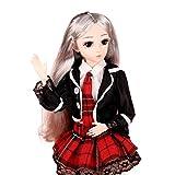 Vfhdd Muñeca BJD-Dolls 1/4 SD de 45,7 cm y 18 bolas articuladas muñeca DIY juguetes regalos para niñas