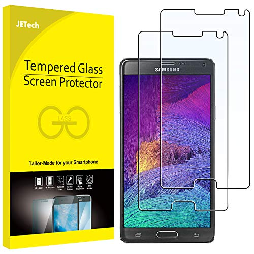 JETech Protector Pantalla Samsung Galaxy Note 4, Vidrio
